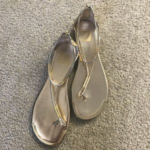 Dolce Vita Gold Sandals (Size 9)